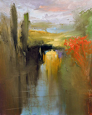 Painting - Over The River by David Figielek
