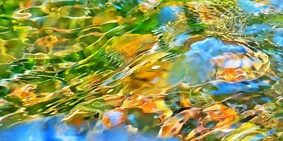 Over The Rocks Print by Terril Heilman