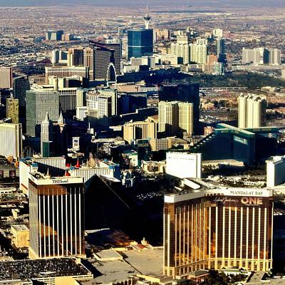 Photograph - Over Vegas by Benjamin Yeager