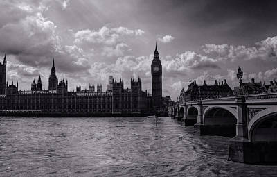 Over Westminster Bridge Art Print