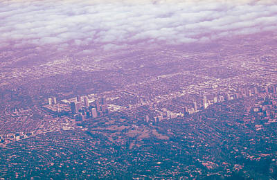Canon Rebel T2i Photograph - Over Wilshire And Rodeo by Carolina Liechtenstein