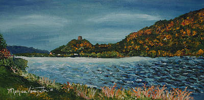 Painting - Overcast At Lake Winona by Monica Veraguth