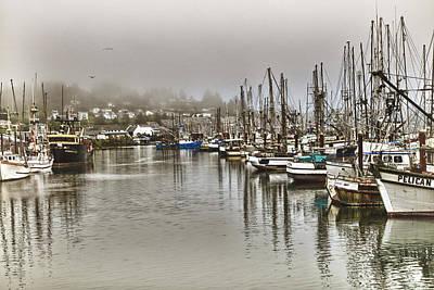 Photograph - Overcast Harbour by Tom Zachman Jr