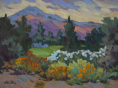 Painting - Overcast Light In Santa Barbara by Diane McClary