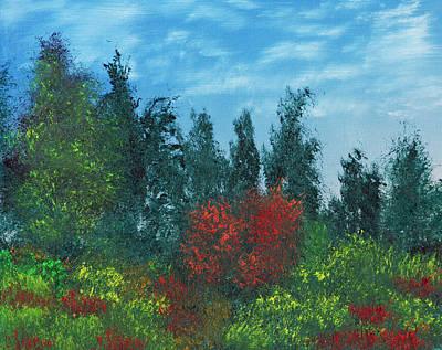 Overgrown Art Print by Jennifer Muller