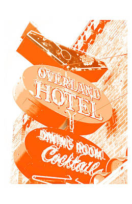 Photograph - Overland Hotel by Gail Lawnicki