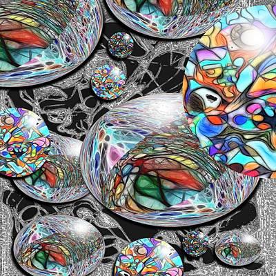 Overlap Series 1 Art Print