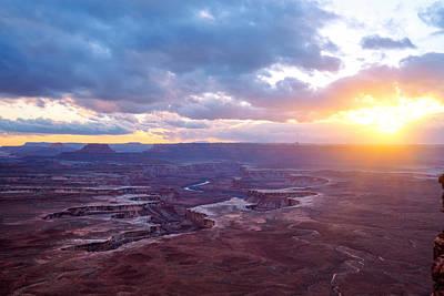 Photograph - Overlook by Dustin  LeFevre