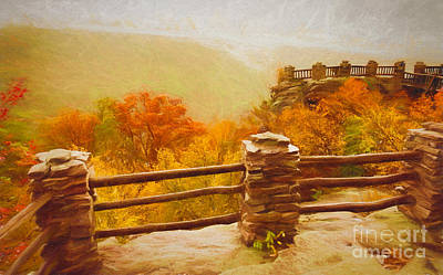 Photograph - Overlook - Fall In West Virginia by Kathleen K Parker