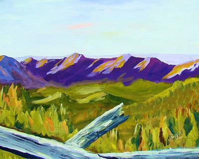 Overlook Art Print by Joe Byrd