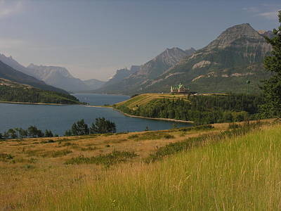Photograph - Overlook Of Waterton Lakes National Park by Robert Lozen