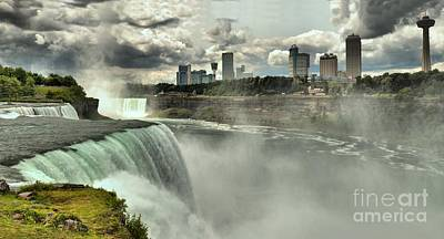 Photograph - Overlooking American Falls by Adam Jewell