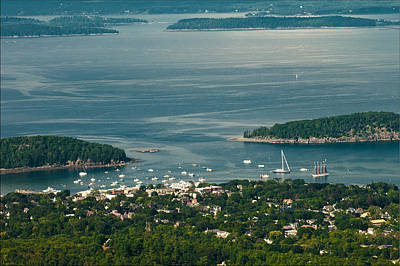Photograph - Overlooking Bar Harbor by Paul Mangold