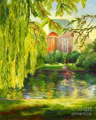 Painting - Overlooking Boston by Shelia Kempf