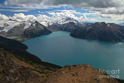 Photograph - Overlooking Garibaldi Lake by Adam Jewell