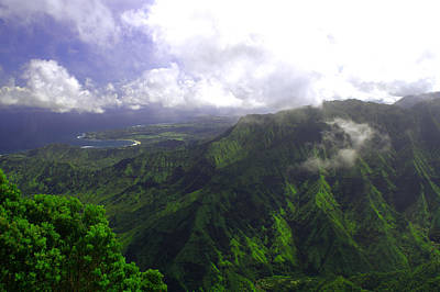 For Sale Photograph - Overlooking Hanalei Bay by Brian Harig