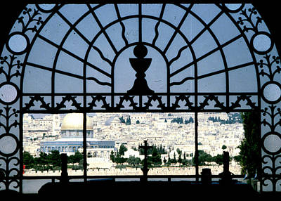 Photograph - Overlooking Jerusalem by Donna Walsh
