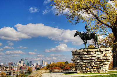 Photograph - Overlooking Kansas City by Deb Buchanan