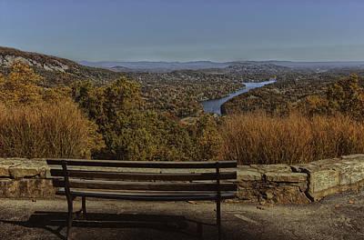 Overlooking Lake Lure Art Print