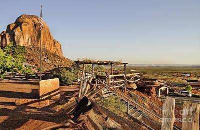 Photograph - Gouldings Lodge In Monument Valley by Brenda Kean