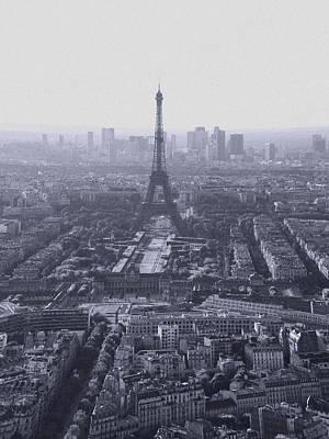 Photograph - Overlooking Paris by Nop Briex