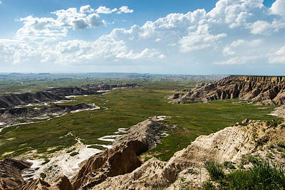 Photograph - Overlooking Sheep Mountain Table by Dakota Light Photography By Dakota