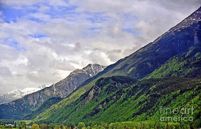 Photograph - Overlooking Skagway by Gena Weiser