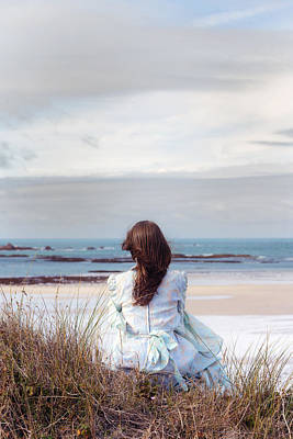 Thoughtful Photograph - Overlooking The Sea by Joana Kruse