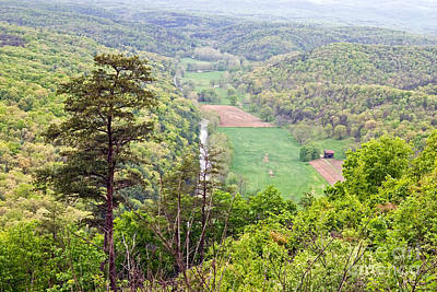 Photograph - Overlooking West Virginia by Jeannette Hunt
