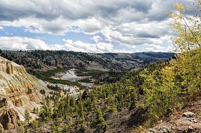 Photograph - Overlooking Yellowstone River On An Autumn Day by Belinda Greb