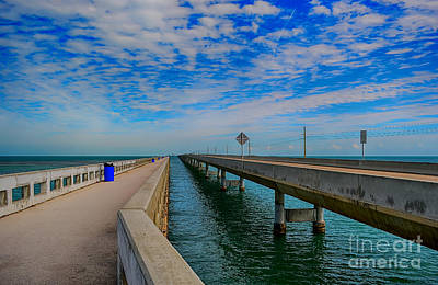 Overseas Highway Florida Keys Art Print