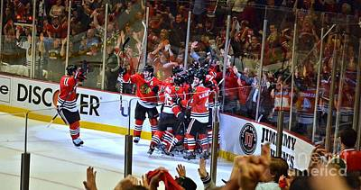 Photograph - Overtime Game Winner by Melissa Goodrich
