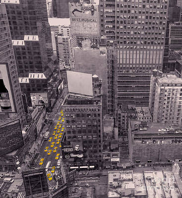 Photograph - Overwhelm Me New York  by Charlie Cliques