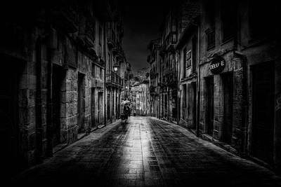 Rain Photograph - Oviedo by Jose C. Lobato