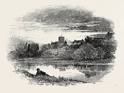 Parish Drawing - Ovingham, Is A Civil Parish And Village In The Tyne Valley by English School