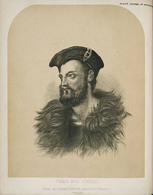 Archaelogy Photograph - Owen Roe O'neill by British Library