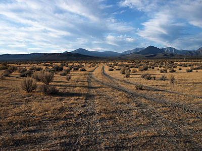 Hwy 168 Photograph - Owens Valley Sunrise by Joe Schofield