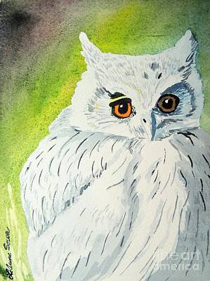 Painting - Owl Let by LeAnne Sowa