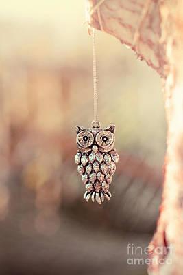 Owl Spirit Print by Trish Mistric
