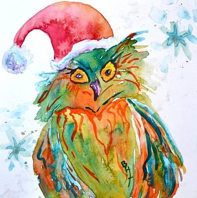 Owlellujah Original by Beverley Harper Tinsley