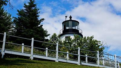Photograph - Owls Head Light.  by New England Photography