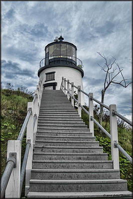 Photograph - Owls Head Lighthouse by Erika Fawcett