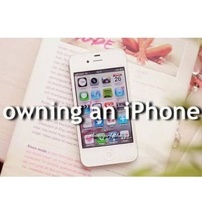 Iphone 4s Photograph - Owning An Iphone • On My Iphone Now! by Courtney Whetton