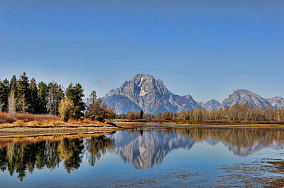 Photograph - Oxbow Bend by David Armstrong