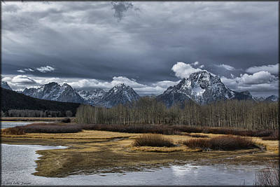 Photograph - Oxbow Bend by Erika Fawcett