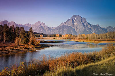 Art Print featuring the photograph Oxbow Bend by Janis Knight