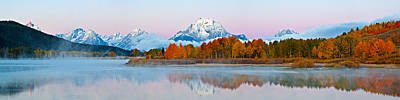 Teton Wall Art - Photograph - Oxbow Bend Panoramic by Guy Schmickle