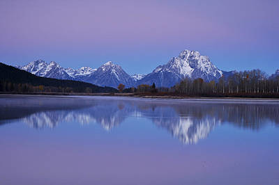 Photograph - Oxbow Bend Sunrise 1 by Lee Kirchhevel