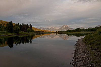 Photograph - Oxbow Bend Sunrise 3 by Lee Kirchhevel