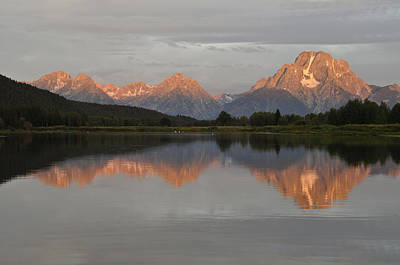 Photograph - Oxbow Bend Sunrise 4 by Lee Kirchhevel